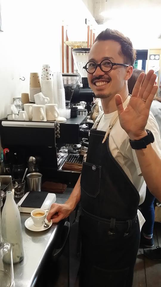 Coffee Attendant Lilo Coffee Roasters Keita Nakamura