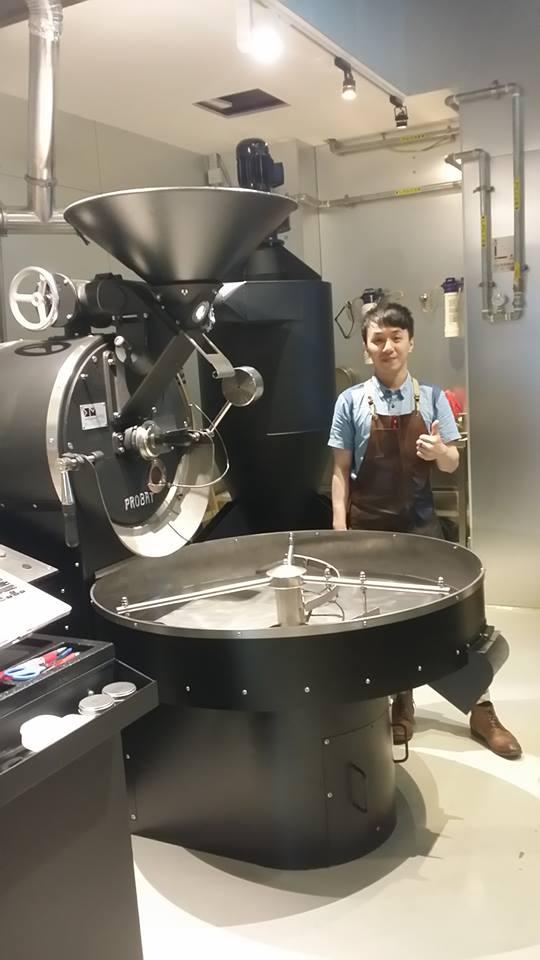 Coffee Attendant Benny Wong Hong Kong