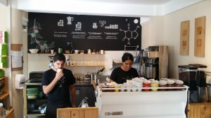 Coffee Attendant cafe verde 2