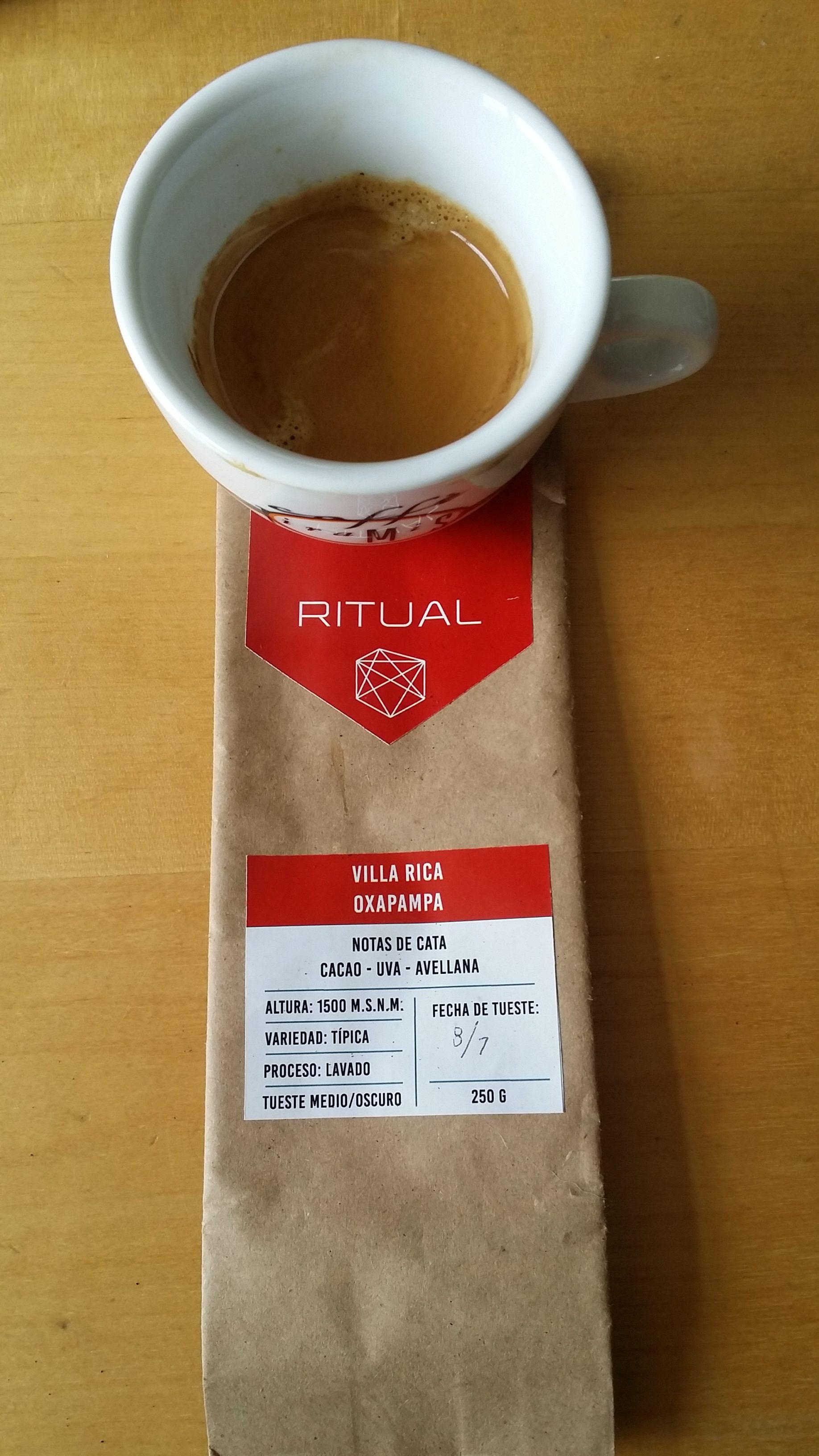 Coffee Attendant Ritual Villa Rica Oxapampa