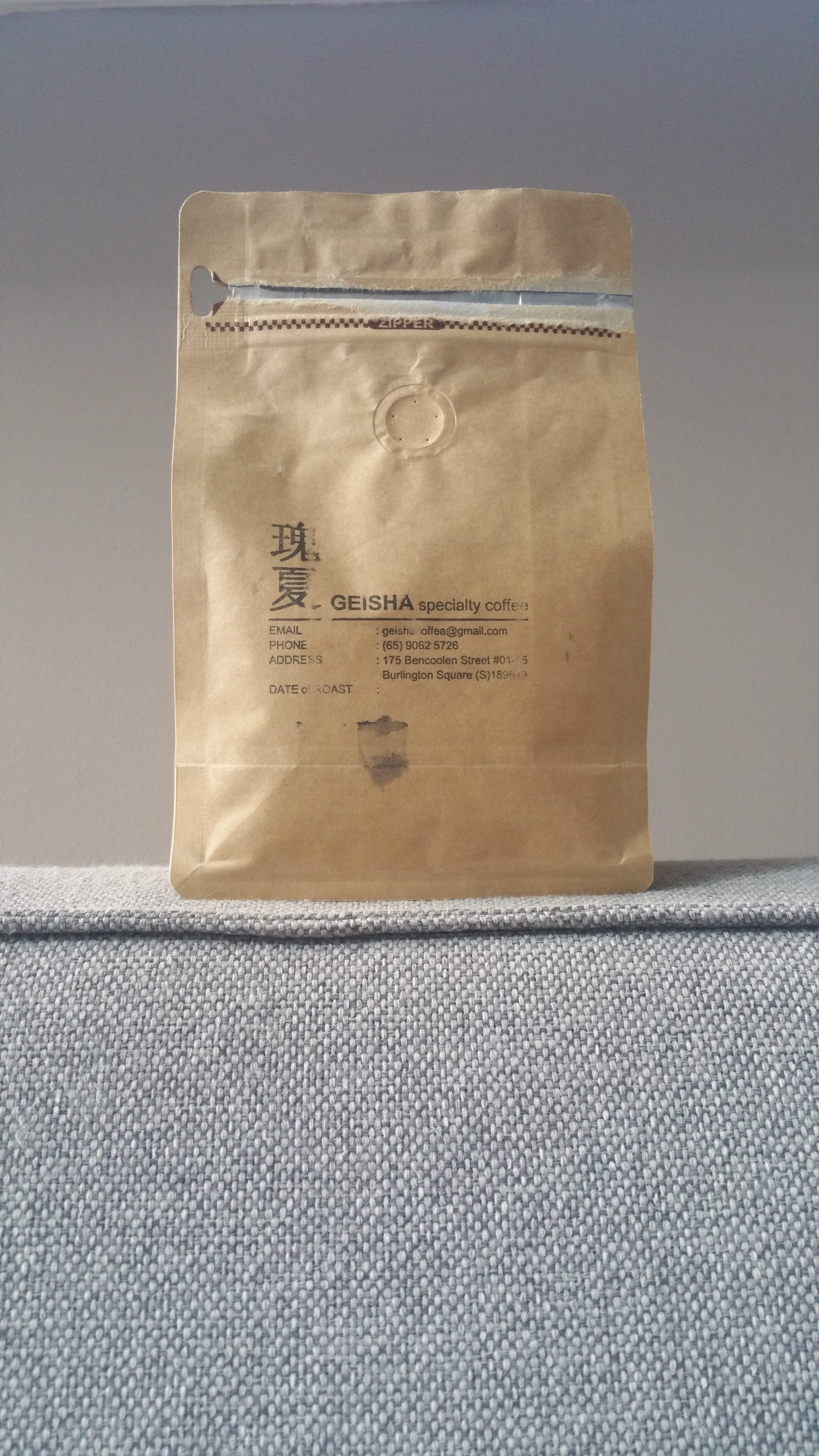 Geisha Specialty Blend Coffee Attendant