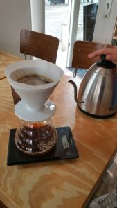 Hario V60 Pour over coffee