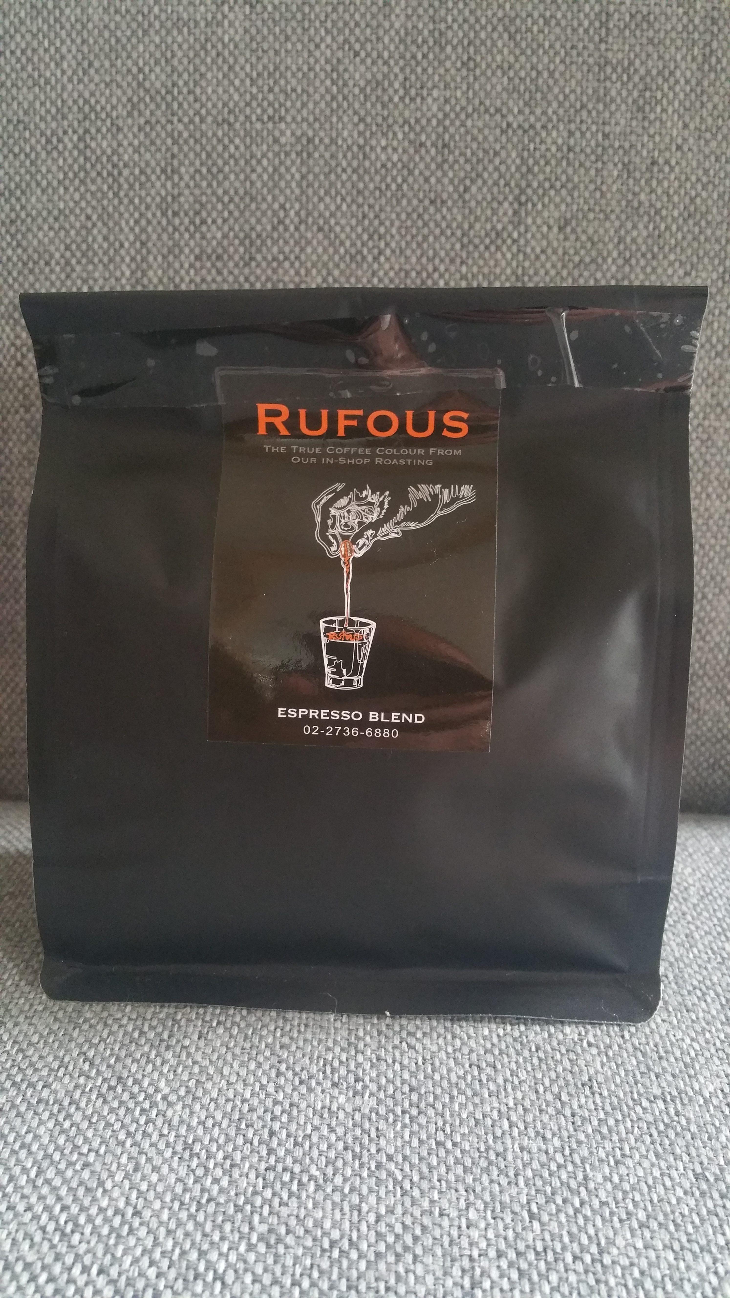 Rufous Espresso Blend 1
