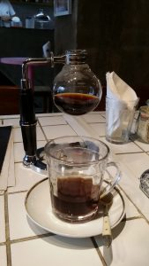Siphon coffee complete