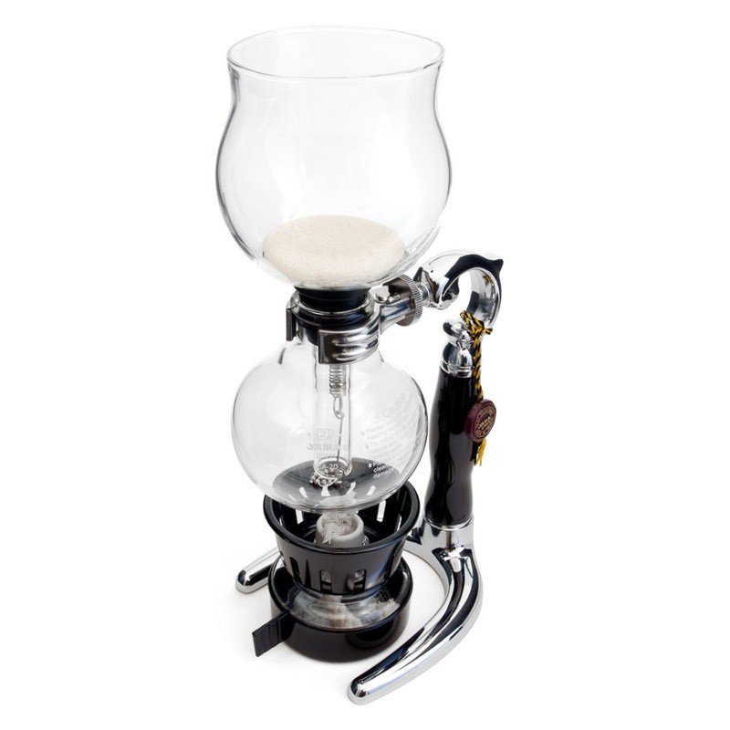 Siphon Coffee brewer 1