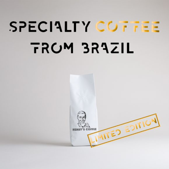 Henrys Coffee Limited Edition Brazil logo