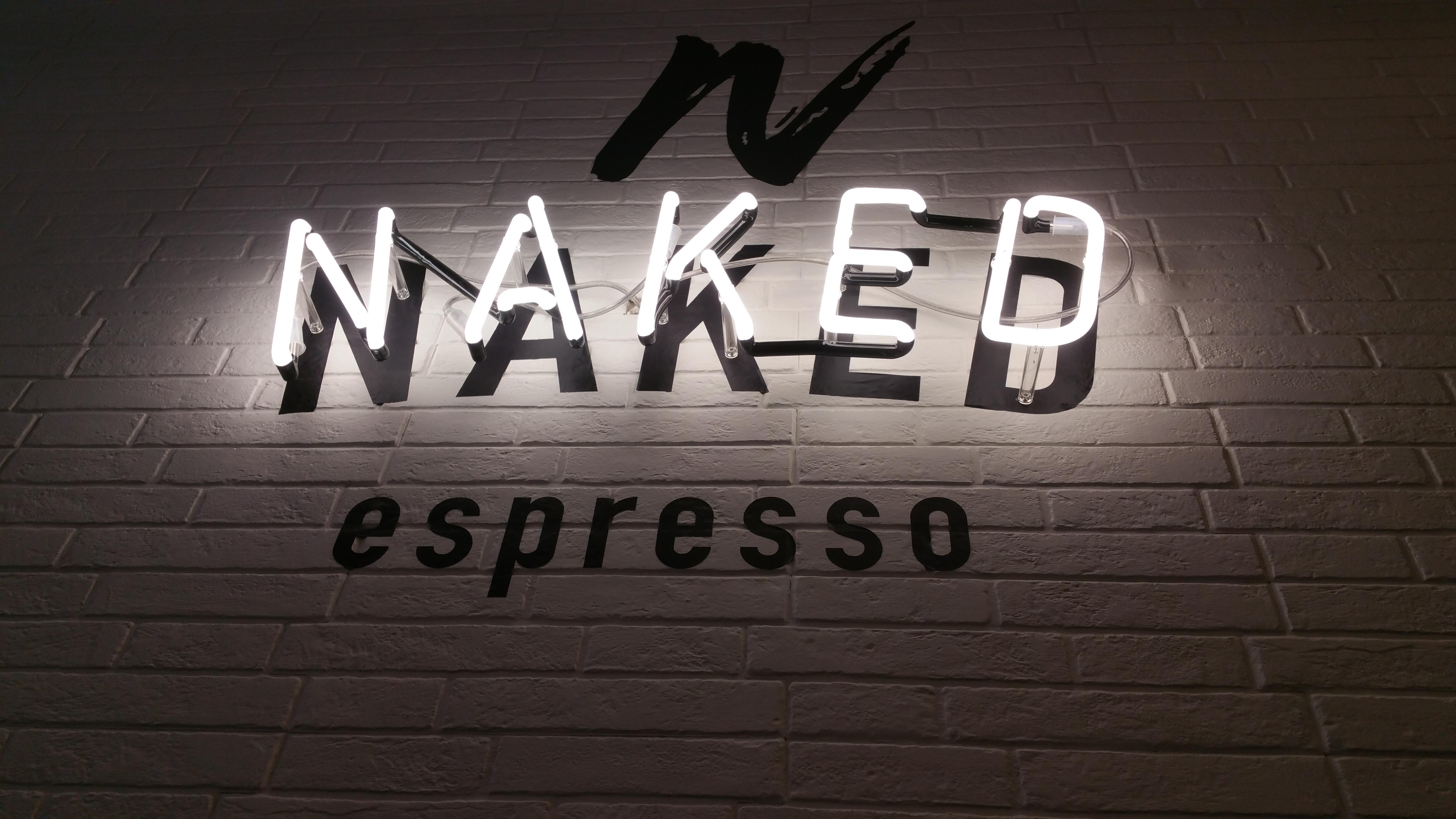 Naked Espresso Dumerso logo