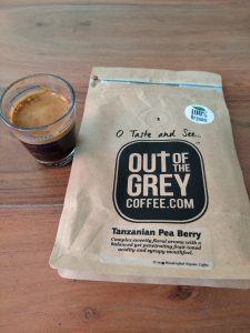 Out of the Grey Kilimanjaro Peaberry brew