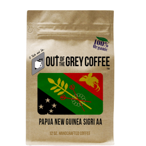 Papua New Guinea Sigri Out of the Grey Coffee