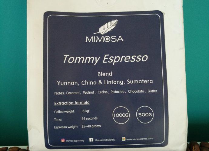 Tommy Espresso logo