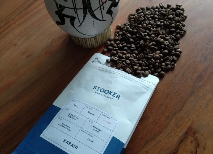 Stooker Specialty Coffee Kenya Karani logo