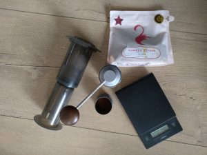 Gardelli Carmen Estate aeropress