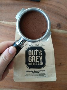 Out of the Grey Sidama Union Heirloom coffee