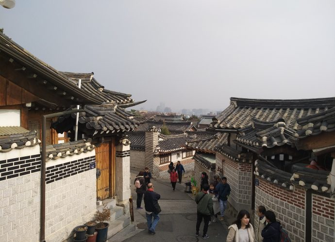 Best coffee shops in Seoul Bukchon Hanok Village