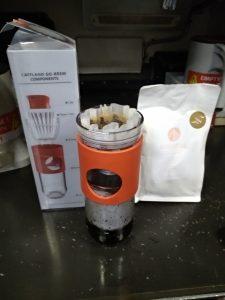 Manhattan Coffee Roasters Kinini brewing