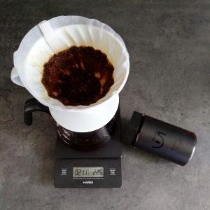 5 Brewing coffee Hario V60