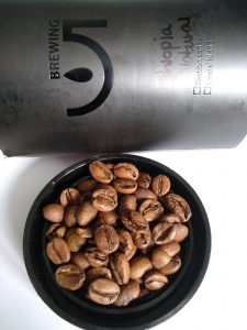 5 Brewing coffee beans Aricha Natural