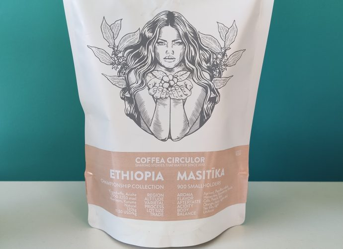 Coffea Circulor Masitika package