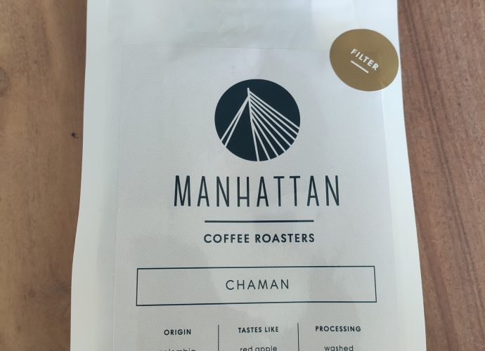 manhattan coffee roasters package