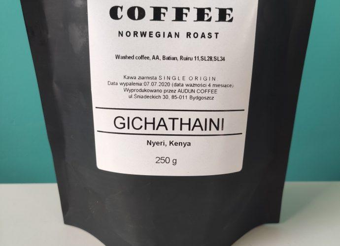 Audun Coffee Gichathaini washed kenya