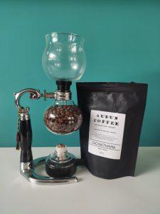 Audun Coffee Siphon beans