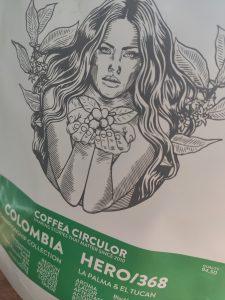 Coffea Circulor label