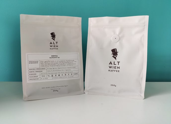 Alt Wien Kaffee Kainamui AA package