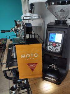 Moto Coffee Ethiopia dimtu Eureka Atom Specialty 75