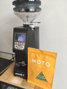 Moto Coffee Pa Loa Eureka Atom Specialty 75