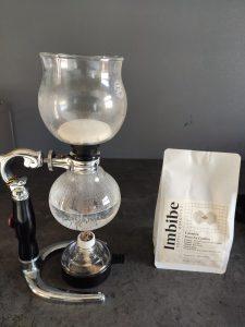 Imbibe Coffee Roasters Siphon brew