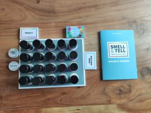 Smell and Tell contents