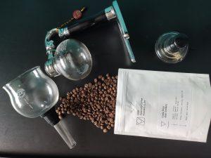 MOK Specialty Coffee Jose Cordero Siphon brewer
