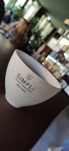 Simpli coffee and bakery cup