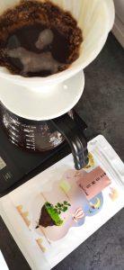 Sumo Coffee Roasters El Obraje brewing